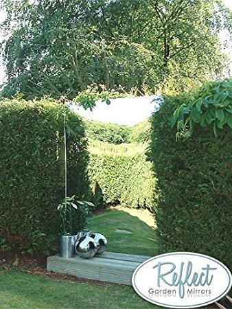 Reflect Acrylic Garden Outdoor Non Shatter Mirror Sheet - Extra large rectangle (6ft x 4ft)