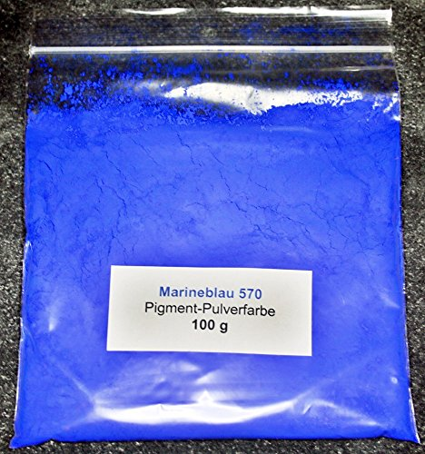 farbpulver 100 g Blau/Marineblau Pigment Farbpulver für Beton Gips Zement Harz