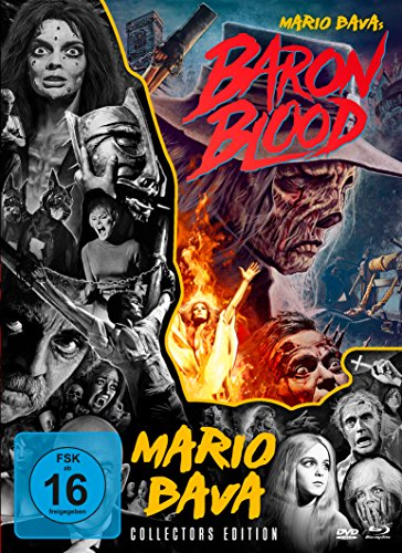 Baron Blood - Mario Bava Collection # 4 (+ DVD) (+ Bonus-DVD) [Blu-ray]
