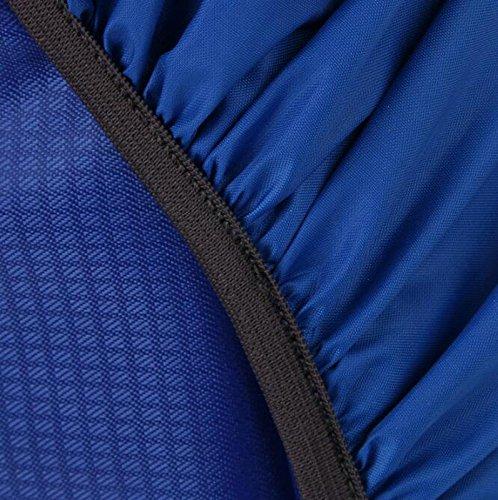 Westeng - Copertura impermeabile per zaino da 20/35 l, in nylon, per attività all'aperto come arrampicata, escursionismo e campeggio Giallo