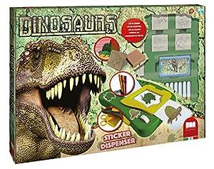 MULTIPRINT Dinosaurs - Juegos de Sellos para niños, Caucho, Madera, 3 año(s), Italia, 480 mm, 60 mm