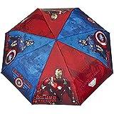 Kinderschirm Marvel's The Avengers - Schirm mit Captain America Motiv - Leichter Kompakter - Best Reviews Guide