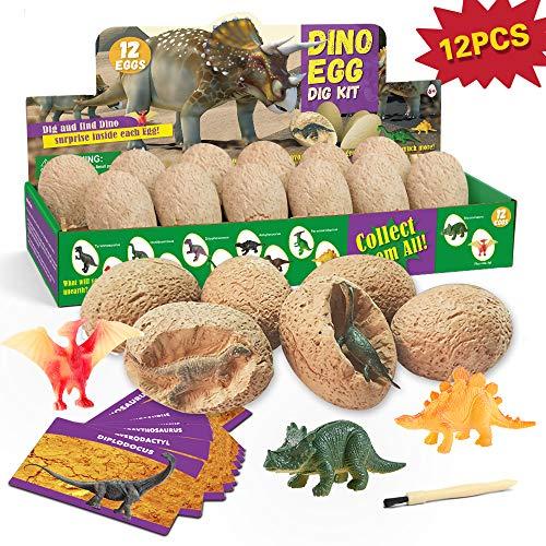 Dinosaurier Egg Toy Ausgraben Dino Ei Spielzeug Party Dinosaur Figuren Braben Kit Ausgrabungsset Archäologie