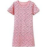 ABClothing Girls Cotton Cherry Nachthemd Pink 2-14 Jahre alt