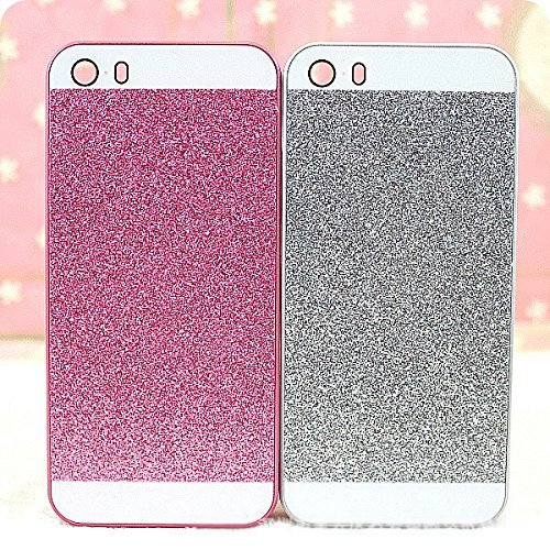 Vandot Diamant Strass Housse Coque Case Cover PC le Plastique Etui pour Apple Iphone 6 6S 4.7 Pouces Protection Coque Haute quality Fashion Design Hard Back Bing Couvrir Couverture - Argent Silver argent