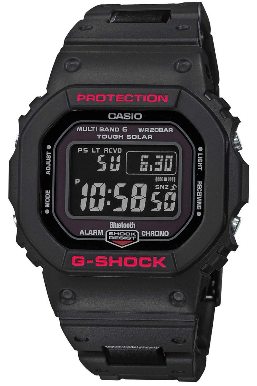 Casio Reloj Digital para Hombre de Cuarzo con Correa en Resina GW-B5600HR-1ER