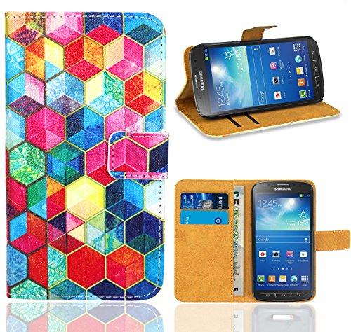 83764b498fe Samsung Galaxy S4 Active i9295 Handy Tasche, FoneExpert Wallet Case Flip  Cover Hüllen Etui Ledertasche