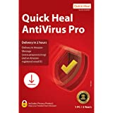 Quick Heal Antivirus Pro - 1 PC, 3 Years (Email Delivery in 2 hours- No CD)