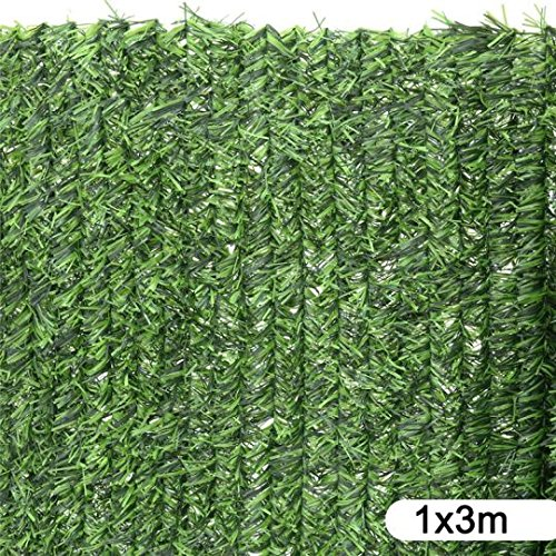 ldk-garden-82184-seto-artificial-de-ocultacion-para-jardin-300-x-100-x-20-cm-color-verde