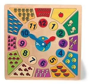 Horloge pour apprendre l'heure «Bigarré»