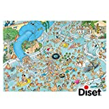 Jan van Haasteren -  Whacky Water World Jigsaw Puzzle (3000 Pieces)