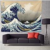 Wandteppich Gobelin Wandbehang Wandteppiche 36 Ansichten des Mount Fuji Wandteppich Decke Kunstdruck Wandkunst Vorhang Bettdecke Sofa Handtuch Décoration De La Maison-B 200x148cm(79x58inch)