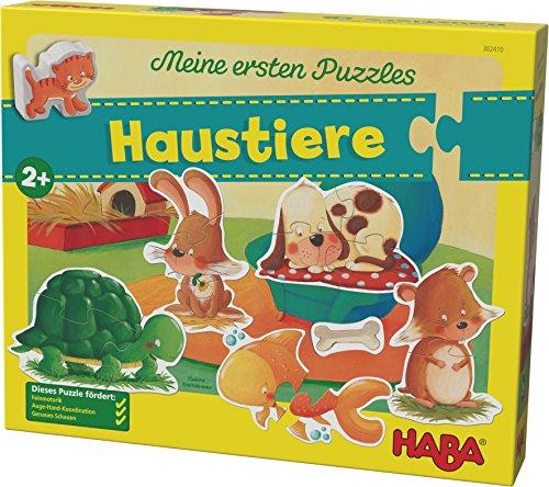Preisvergleich Produktbild HABA 302410 - Meine ersten Puzzles - Haustiere