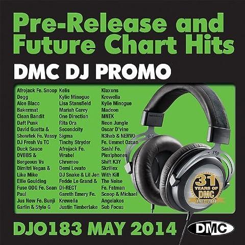DMC DJ Promo DJO183 DJ Only Pre-Release & Future Chart Hits Twin CD May 2014 by Afrojack fe Snoop