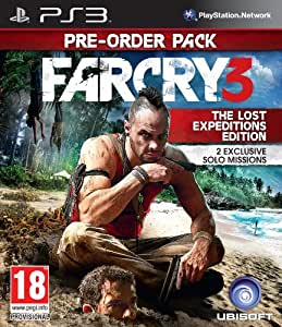 Far Cry 3 - The Lost Expeditions Edition (PS3)