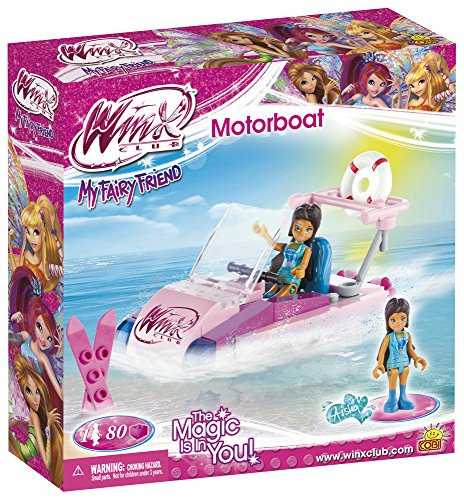 COBI 25083 - Aisha Motorboot aus der Winx Club Serie - 80 Bausteine