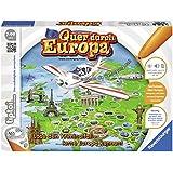 """Ravensburger 00579 - tiptoi Spiel """"Quer durch Europa"""""""
