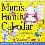 2017 Mums Family Wall Calendar