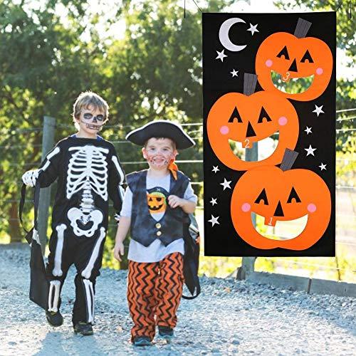 Halloween Banner Kürbis Vlies Ornamente Filz Spiel Banner
