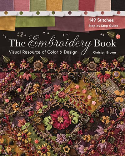 Embroidery Book Visual Resource Design