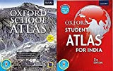 Oxford Atlas (School Atlas + Student Atlas) Moneysaver Combo Pack with CD in both Atlas'