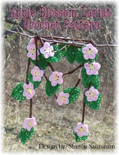 Apple Blossom Lariat Crochet Pattern (English Edition) Apple Blossom Pattern