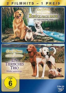 Zurück nach Hause - Die unglaubliche Reise / Ein tierisches Trio - Wieder unterwegs [2 DVDs]