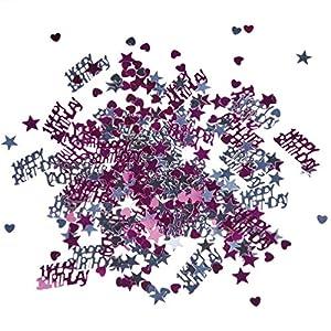 SUSY CARD 11450541 - Confeti de decoración de cumpleaños para mesas con diseño Princesa, 15g