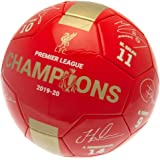 Liverpool FC Champions 19 20 Signature Ball Size 5