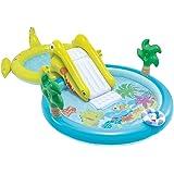 Intex–Zentrum von Spiele Wasserpark mit Rutsche–180Pool und 132Liter (57164)