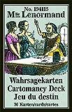 Lenormand Wahrsagekarten: 36 Karten mit Kurzanleitung (Nr. 194115, Mlle. Lenormand, 58 x 89 mm)