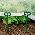 Gärtner Pötschke Netz- und Folienhalter, 15 cm, 20 Stück von Gärtner Pötschke - Du und dein Garten