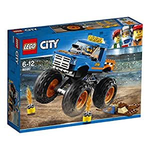 LEGO 60180 City Great Vehicles Monster Truck Toy, Vehicle Construction Sets for Kids