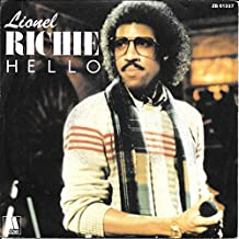 "Lionel Richie Hello / You Mean More To Me France (French) 45 7"" sgl +Pict Slv"