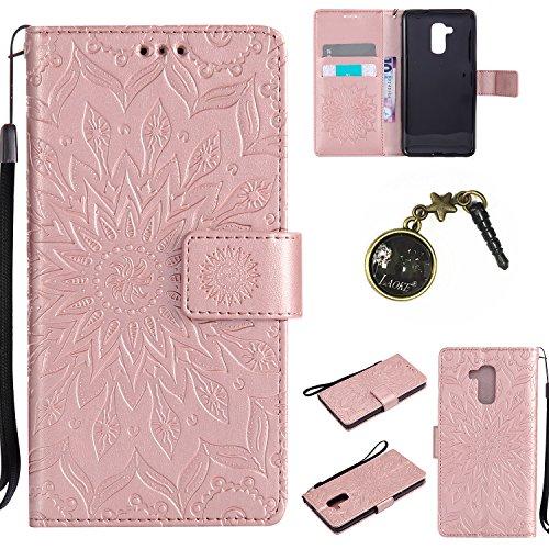 PU Silikon Schutzhülle Handyhülle Painted pc case cover hülle Handy-Fall-Haut Shell Abdeckungen für Honor 5C (+Staubstecker) (7FF) 6