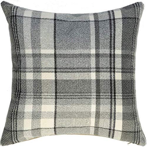 beo LKP 70x70PY202 Colore: Antracite Cuscino per Divano con Chiusura Lampo e Tessuto Impermeabile 70 x 70 cm