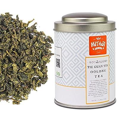 Miyagi Tea - Iron Goddess of Mercy - Tie Guan Yin - Thé Oolong de première qualité - 5.29oz (150g)/boîte en fer-blanc