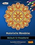 Malerische Mandalas: Malbücher für Erwachsene (Ausmalen & Entspannen)