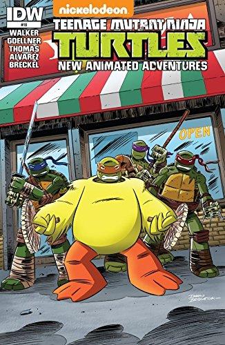 Teenage Mutant Ninja Turtles: New Animated Adventures #19 ...