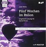 Fünf Wochen im Ballon: Ungekürzte Lesung mit Daniel Minetti (1 mp3-CD)