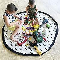 Preisvergleich für EZcomfy groß tragbar Kids Baby Infant Kinder Play Matte Toys Storage Bag Spielzeug Organizer–152,4cm