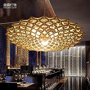 too cr ation de lustre des copeaux de bois lustre rotin lustre cuisine maison. Black Bedroom Furniture Sets. Home Design Ideas
