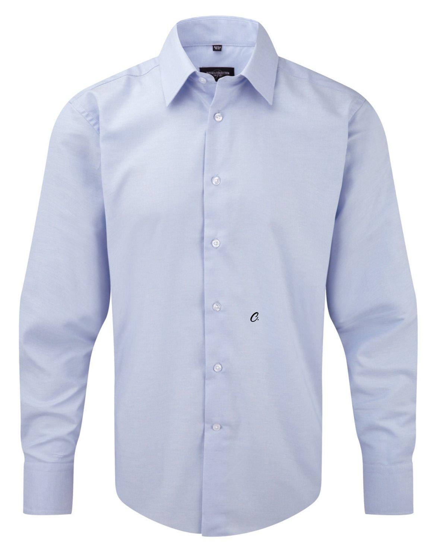 CAMICIA JE922M CON INIZIALE RICAMATA  D  Men's Long Sleeve Tailored Oxford Shirt - Tutte le tag