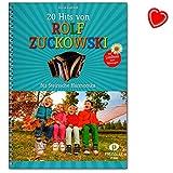 20tubes de Rolf Zuckowski pour harmonica Français avec paroles de chanson texten à mitsingen Book avec trombone en forme de cœur coloré–jp6631–9783940013507