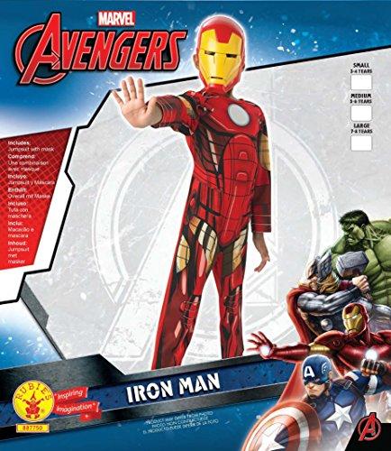 Imagen de iron man  avengers assemble  niños disfraz  medium  116cm alternativa