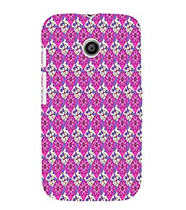 Decorative Floral Design 3D Hard Polycarbonate Designer Back Case Cover for Motorola Moto E XT1021 :: Motorola Moto E (1st Gen)