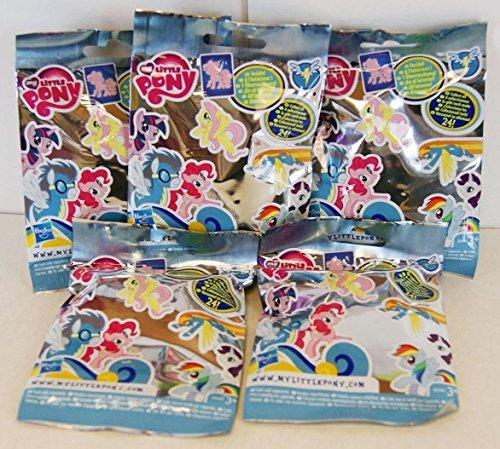 (My Little Pony - Wave 7, Kristall Empire Rollo Taschen - 24 verschiedene Banner Ponys zu sammeln - 5 x Blind Bags)