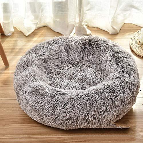 Cuide de tu mascota Por fin su mascota tiene su propia cama acogedora. Para que tu mascota se sienta como un miembro de la familia, diseñado el lugar favorito de tu peluche: un sofá robusto y cómodo, hecho de suave tela de peluche, permite que tu per...