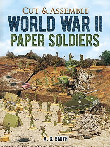 Cut and Make GI Paper Soldiers (Models & Toys) por Albert G. Smith