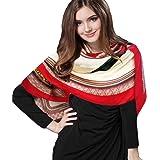 iEverest Foulard Quadrato Donna Seta Grande Sciarpe Quadrato in Seta Donna Hijab Scialle Sciarpa Satinato Quadrato Donna Fazz